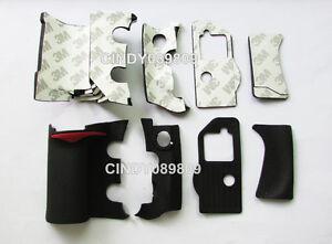 A Unit of 4 Pieces Grip Rubber Unit Part for Nikon D300 DSLR + adhesive tape