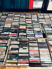 10 Random CASSETTE TAPES Lot for $14.99: Rock, Pop, Metal, 80s, 90s, Alternative