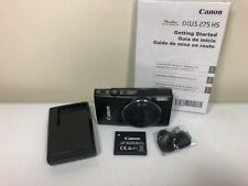 Canon PowerShot ELPH 350 HS / IXUS 275 HS 20.2MP Digital Camera - Black
