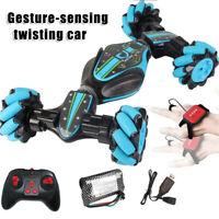 Gesture Sensing Stunt RC Car Twisting Vehicle Drift Car Kids Toy Christmas Gift