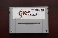 Super Famicom SFC Chrono Trigger Japan SNES games US Seller