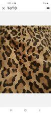 Ralph Lauren Home Full Queen Aragon Leapard Print Comforter Euc