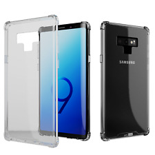Samsung Galaxy Note 9 amCase Protective Crystal Bumper Phone Case/Cover (Clear)