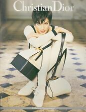 ▬► PUBLICITE ADVERTISING Christian DIOR Collection Maroquinerie 1994
