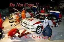 Salonen & Eriksson Mitsubishi Galant VR-4 Swedish Rally 1991 Photograph