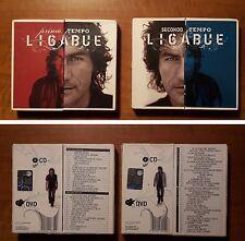 Ligabue PRIMO E SECONDO TEMPO 2 CD + 2 DVD (2007) Edizione Limitata