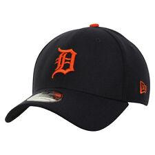 Detroit Tigers MLB Baseball New Era Cap Kappe NEU 9forty Kappe Dunkelblau Klett