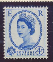 Great Britain Stamp Scott #359a, Mint Hinged