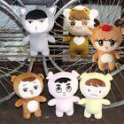 Kpop EXO xoxo Planet#2 Plush Toy Chen Kai DO Suho Chanyeol Sehun BaekHyun Dolls