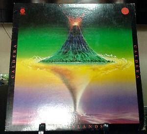 CALDERA Sky Islands Released 1977 VINYL/RECORD ALBUM US pressed