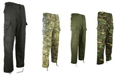 Kombat M65 BDU Camo Trousers Ripstop Army Combat Tactical Paintball Camouflage