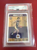 2017 Panini NBA Hoops Lonzo Ball Rookie Card Graded PSA 10 Gem Mint - Pelicans