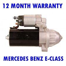 MERCEDES BENZ E-CLASS 200 220 2003 2004 2005 2006 - 2009 STARTER MOTOR