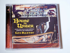 House Of Usher - Les Baxter - Intrada Score CD - ISC159 - OOP - Sold Out SEALED