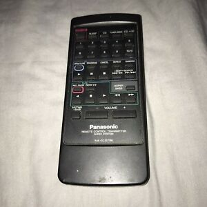Panasonic Remote Control Transmitter Audio System Model RAK-SC307WM