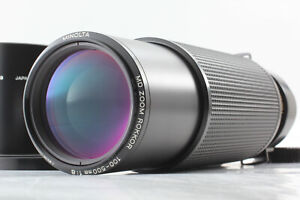 [RARE MINT] MINOLTA MD ZOOM ROKKOR 100-500mm F8 Telephoto Lens Hood Japan