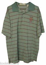 Fairway & Greene Whistling Straits Mens Striped 100% Cotton Polo Shirt Medium M