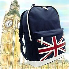 Union Jack UK Backpack National School Book Bag Casual Rucksack Satchel Daypack