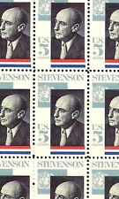1965 - ADLAI STEVENSON - #1275 Full Mint -MNH- Sheet of 50 Postage Stamps