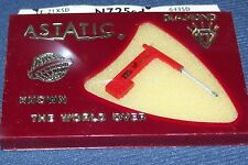 Astatic N725-sd RECORD PLAYER NEEDLE Stylus FOR Telefunken A25/2 A23/2
