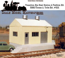 Modern Transition Era Pre-Fab Metal Station & Platform Kit Thomas Yorke/HO/HOn3