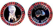 x1 Poker Weight Card Guard Figurines cod. PW-PYN