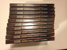 (10) 2008 PRESIDENTIAL Dollar Proof Set US Mint BOXES and COA's Only - NO COINS!