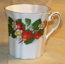 Royal Grafton ~ Fine Bone China ~ Cup / Mug ~ Made in England ~ Strawberries