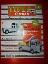 n°6 camionnette maçon  Fascicule Booklet citroën type H