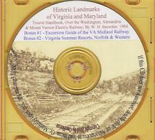 Some Old Historic Landmarks of Va - History& Genealogy