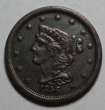 1856 Half Cent PD59