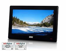 "August DA100D - 10"" tragbarer DVB T2 digital Fernseher - Portabler Mini TV"