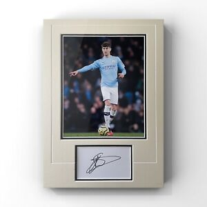 John Stones - Manchester City Defender Signed Display