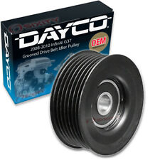 Dayco Grooved Drive Belt Idler Pulley for 2008-2010 Infiniti G37 Grooved - fp