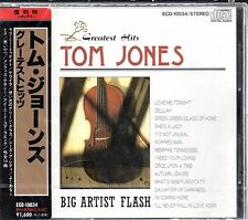 TOM JONES Greatest Hits (CD , EYEBIC 1989 - Japan) SEALED New