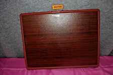 Original Table-Mate Brand Adjustable, Foldable Woodgrain TV Table (NEW)  #M3748
