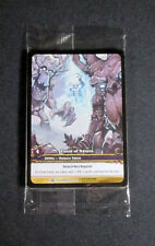 (8) World of Warcraft WoW TCG Force of Nature Outland Promo Extended Art Rare