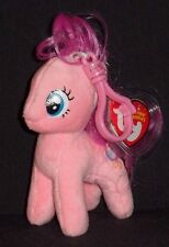 TY PINKIE PIE (MY LITTLE PONY) BEANIE BABY  KEY CLIP - MINT with MINT TAGS