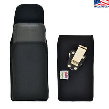 Turtleback Samsung Galaxy S6 Nylon Pouch Holster Metal Belt Clip Fits Verus