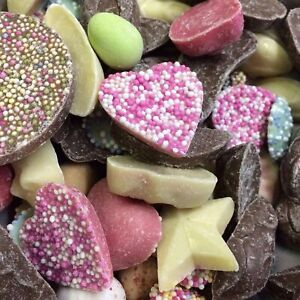 1kg Hannahs Chocolate Candy - Assortment Of Pick N Mix Chocolate Sweet Treats