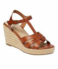 Rock & Candy By Zigi Fola Wedge Heels Tan Women's Sandal Shoes Size 9.5M