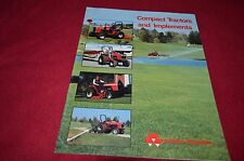 Massey Ferguson Compact Tractor & Implements for 1987 Dealer's Brochure HVPA