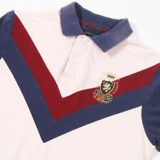VGC Vintage TOMMY HILFIGER Slim Fit Polo Shirt | Mens S | Retro Wavey 90s