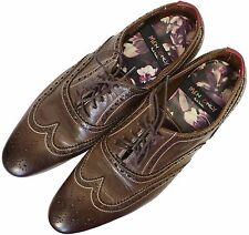 PAUL SMITH 'MenOnly' Leather Brogues  EU-39 / UK-7 / US-10  WORN TWICE £329.00