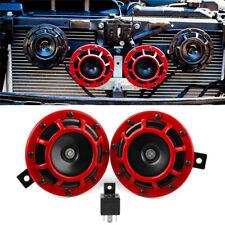 2pc Compact Electric Loud Blast 12V Grille Mount For Super Tone Hella Horn Ki FJ