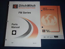 Ditch Witch Fm13v Mud Mixing System Parts Operation Amp Maintenance Manual
