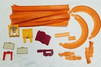 Vintage lot Hot Wheels Track Pieces Hot Turn Curve Joiners accessories 1967 1968