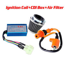 Racing AC CDI Box 6 Pin+Ignition Coil +Air Filter for GY6 50-150cc Scooter 1 Set