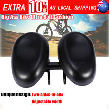 No Pressure Bicycle Bike Seat Comfortable Ergonomic Soft Wide Large Saddle AU SG