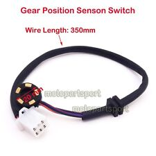 Gear Position Sensor Switch Transmission Indicator 5 Wire Motorcycle ATV Quad